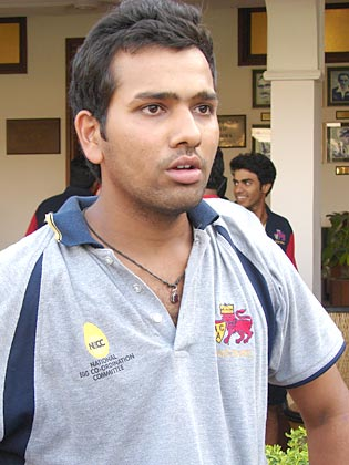rediff.com: Mission Tomorrow: Rohit Sharmarohit sharma