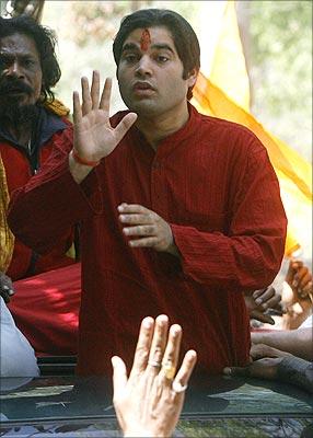 BJP member of Parliament Varun Gandhi