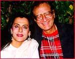 Priya Rajvansh with Chetan Anand