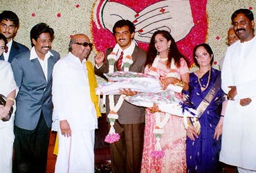 Rediff The Ajith Shalini Wedding