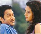 Aamir Khan and Preity Zinta in Dil Chata Hai