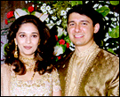 Madhuri Dixit and Dr Shriram Nene
