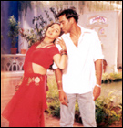 Madhuri and Ajay Devgan in Yeh Raaste Hain Pyaar Ke