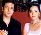 Fardeen and Reema in Hum Ho Gaye Aapke