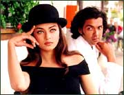 Ash and Bobby Deol in Aur Pyar Ho Gaya...