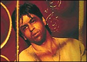 Shah Rukh Khan as Devdas
