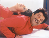 Anil Kapoor with Shipa Shetty in Badhaai Ho Badhaai