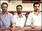 Rahul Dev, Vicky Ahuja and Bobby Deol