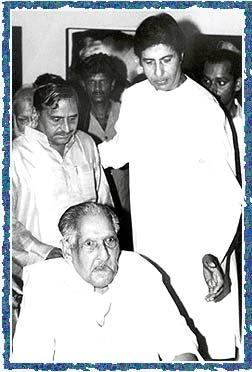 Mulayam Singh Yadav, Dr Harivanshrai Bachchan and Amitabh