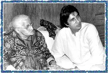 Teji Bachchan and Amitabh