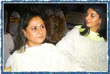 Jaya Bachchan, Shweta Nanda