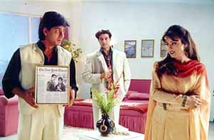 Shah Rukh, Mahima, Apoorva