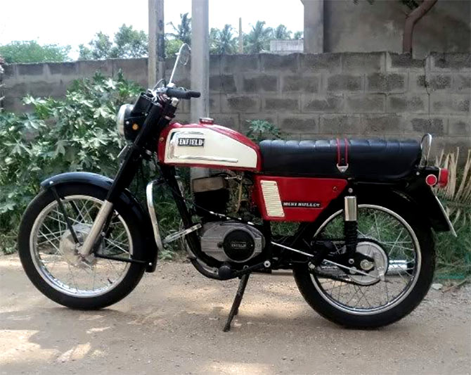 Royal Enfield Mini Bullet 200cc