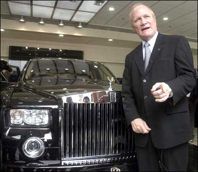 Rolls Royce comes to India