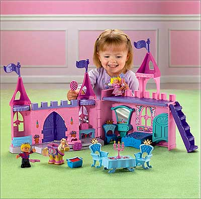 A toy house by Mattel Inc