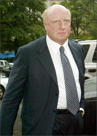 Former Tyco International CEO Dennis Kozlowski arrives at court