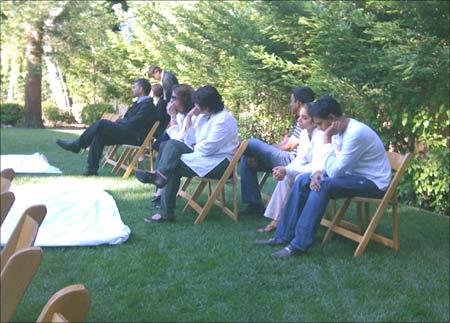 Motwani's students at the Stanford University gathered to pay homage.