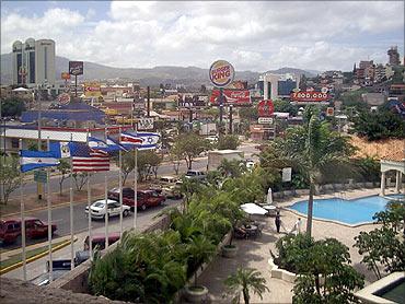 Tegucigalpa.