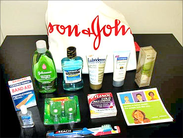 Johnson and Johnson products.
