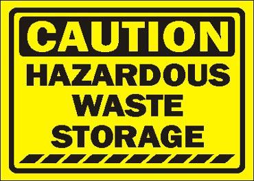 Hazardous waste.