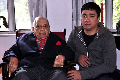 Russi Mody and Amit Tamang.