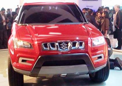 Maruti SUV XA Alpha.