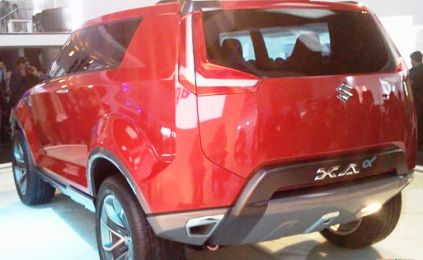 11th auto expo maruti unveils suv xa alpha business. Black Bedroom Furniture Sets. Home Design Ideas