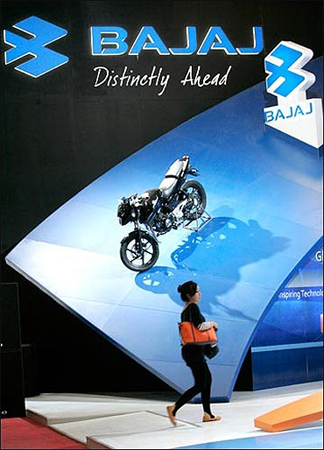 Bajaj Auto's sales decreased.