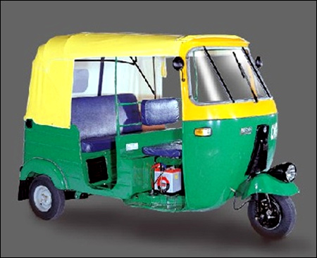 Three-wheeler sales down.