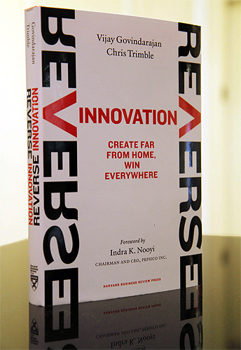 Book cover of Reverse Innovation: Create Far From Home, Win Everywhere.