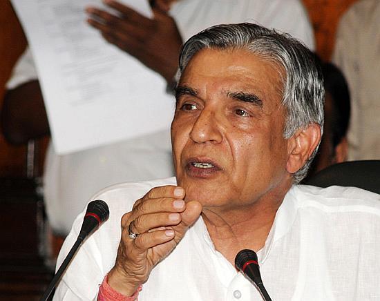 Railway Minister Pawan Kumar Bansal.
