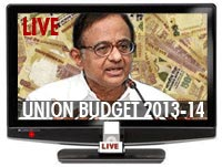 Union Budget 2013 Live Streaming