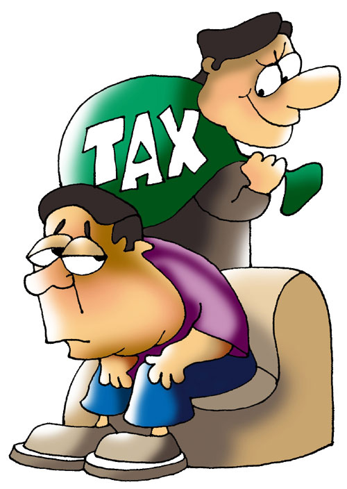 One may feel that additional 5 per cent tax burden may not be fair.