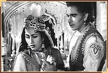 k asif and dilip kumar sister  Mughal-e-Azam (1960)
