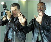 Robert DeNiro, Eddie Murphy in Showtime