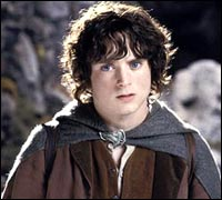 Elijah Wood in The Two Towers