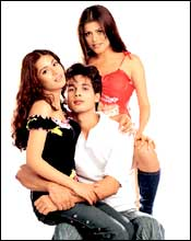 A still from Ishq Vishk