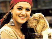 Preity Zinta in The Hero