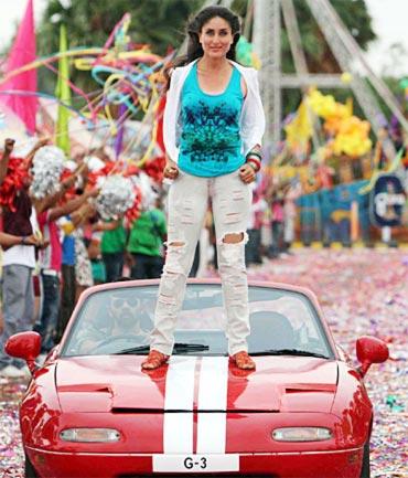 Kareena Kapoor in Golmaal 3