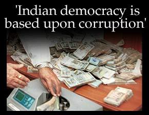 Essay on corruption in politics in india