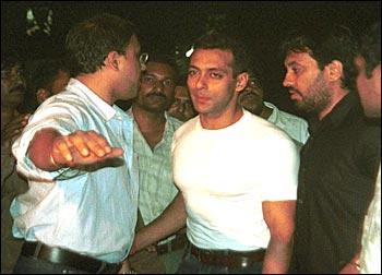 Rediff Salman Khan Released On Bail