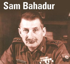 General Sam Manekshaw.