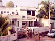 Prasoon Agarwal's bungalow
