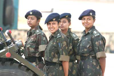 Women and the army