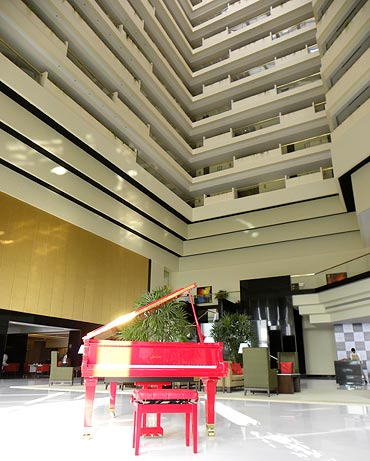The newly-renovated Oberoi Hotel in Mumbai