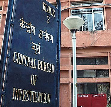 The CBI office in New Delhi