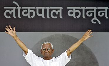 Anna Hazare has threatened to go on an indefinite fast from December 27 in case the Lokpal Bill was not passed in the current session