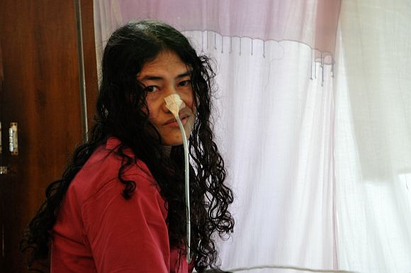 In her hospital ward prison, Irom Sharmila reads books, writes, does yoga