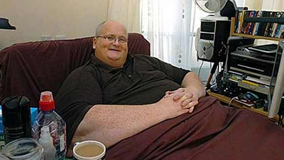 Paul Mason, a former world's heaviest man