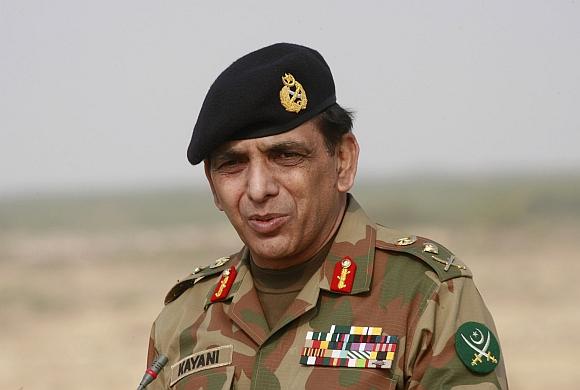 Pakistan Army chief Kayani